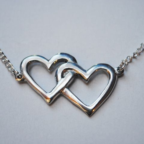 Hearts Entwined Necklace P78