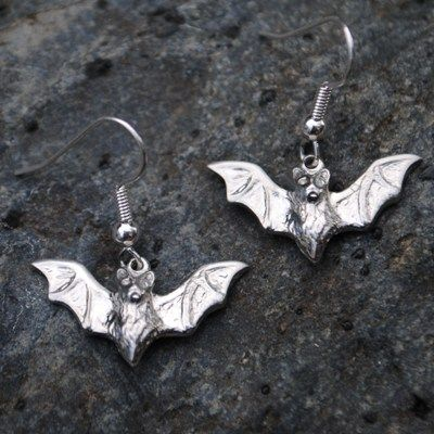 Bat earrings E92